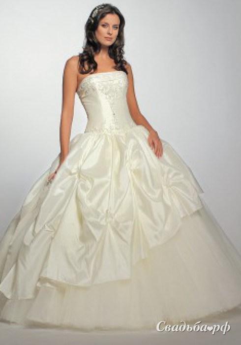 Купить свадебное платье О690 (цвета: кремовый) - Свадебный салон
